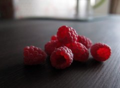 Handmade raspberry, handmade berries / Ягоды ручной работы, малина ручной работы